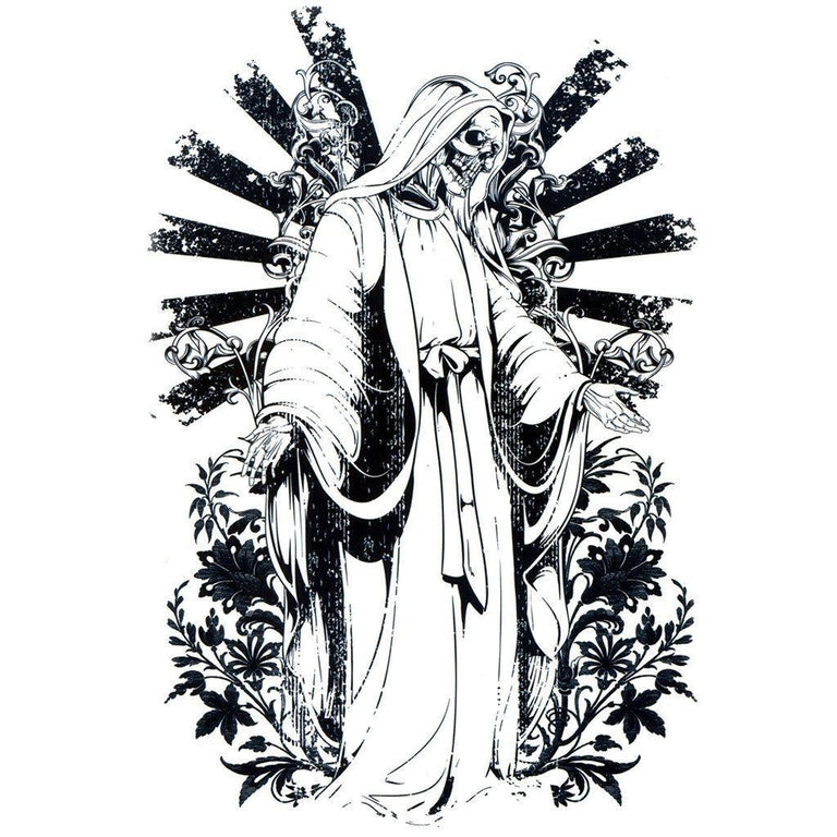 Tatouage éphémère : Death Blessing - ArtWear Tattoo France - Tatouage temporaire