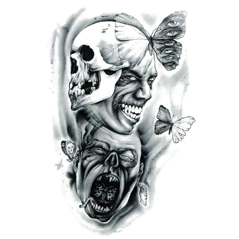 Tatouage éphémère : Horror Master - ArtWear Tattoo France - Tatouage temporaire