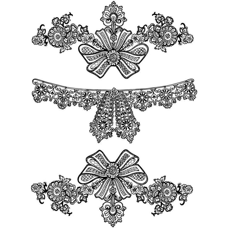 Tatouage éphémère : Lace Jewelry - Pack - ArtWear Tattoo France - Tatouage temporaire