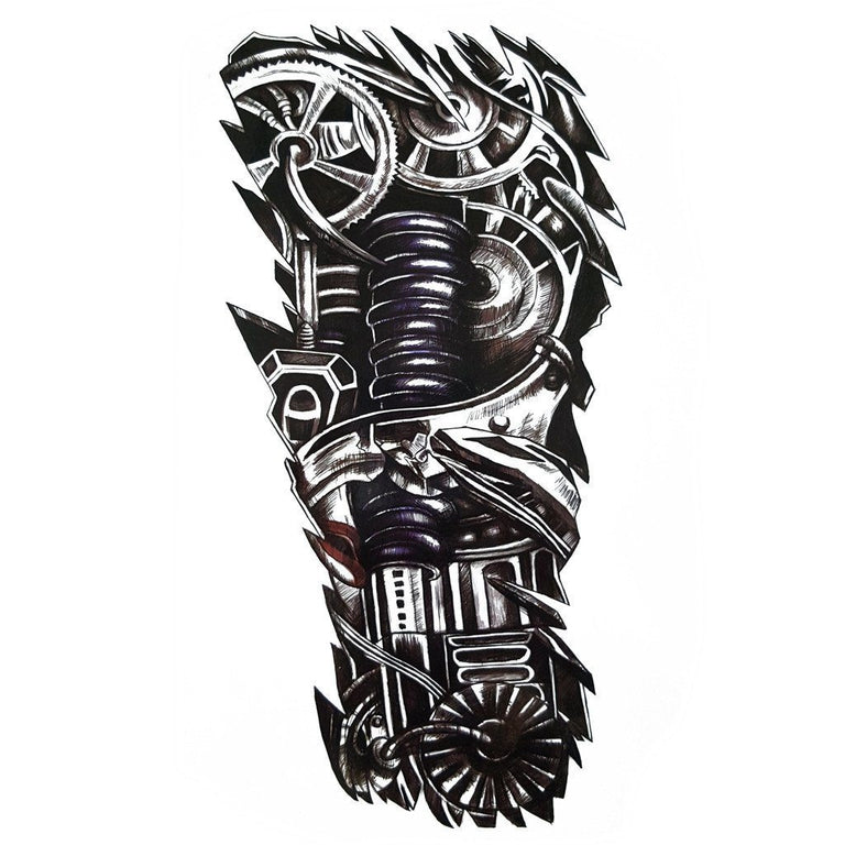 Mechanical 4 - ArtWear Tattoo