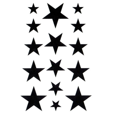 Lil Black Stars - ArtWear Tattoo