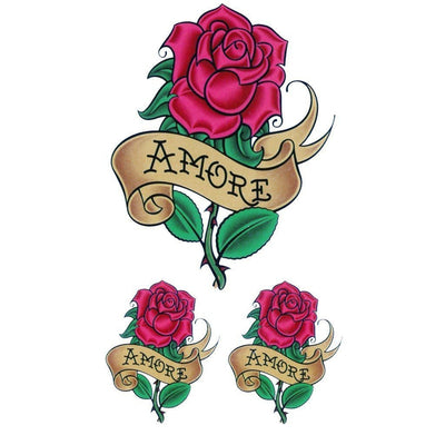 Amore Roses - Pack - ArtWear Tattoo