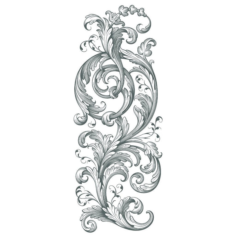 Tatouage éphémère : Floral Ornament - ArtWear Tattoo France - Tatouage temporaire