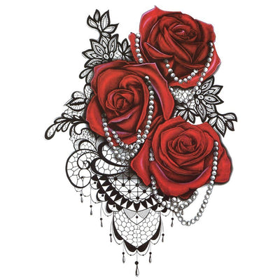 Laces Roses - ArtWear Tattoo