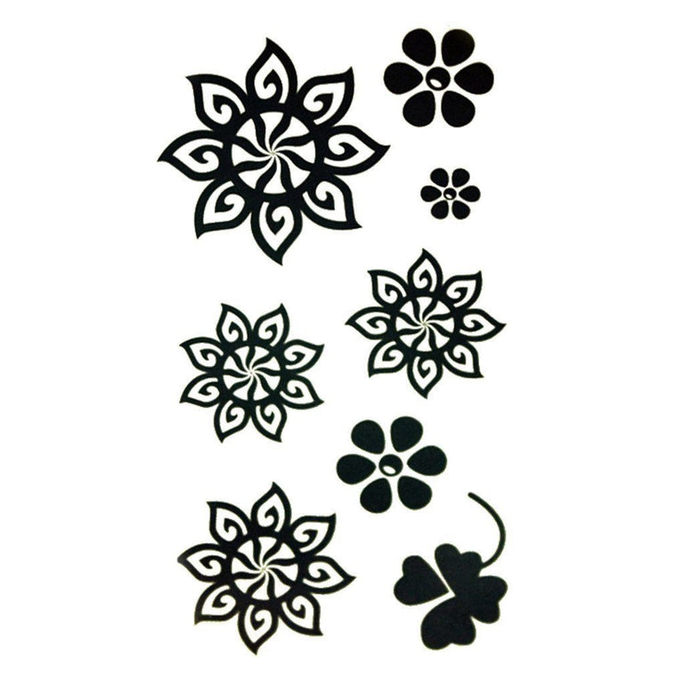 Multi Flowers - Pack - ArtWear Tattoo