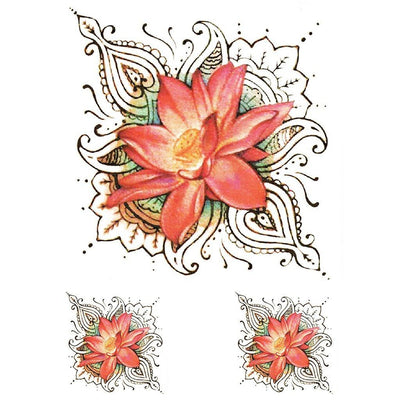 Pink Lotus - ArtWear Tattoo