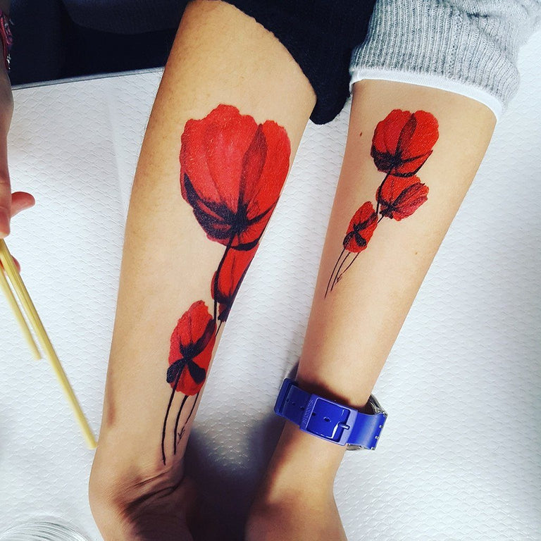 Poppies - ArtWear Tattoo