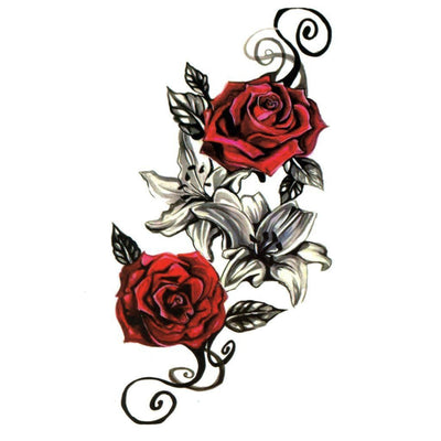 Red Roses - ArtWear Tattoo
