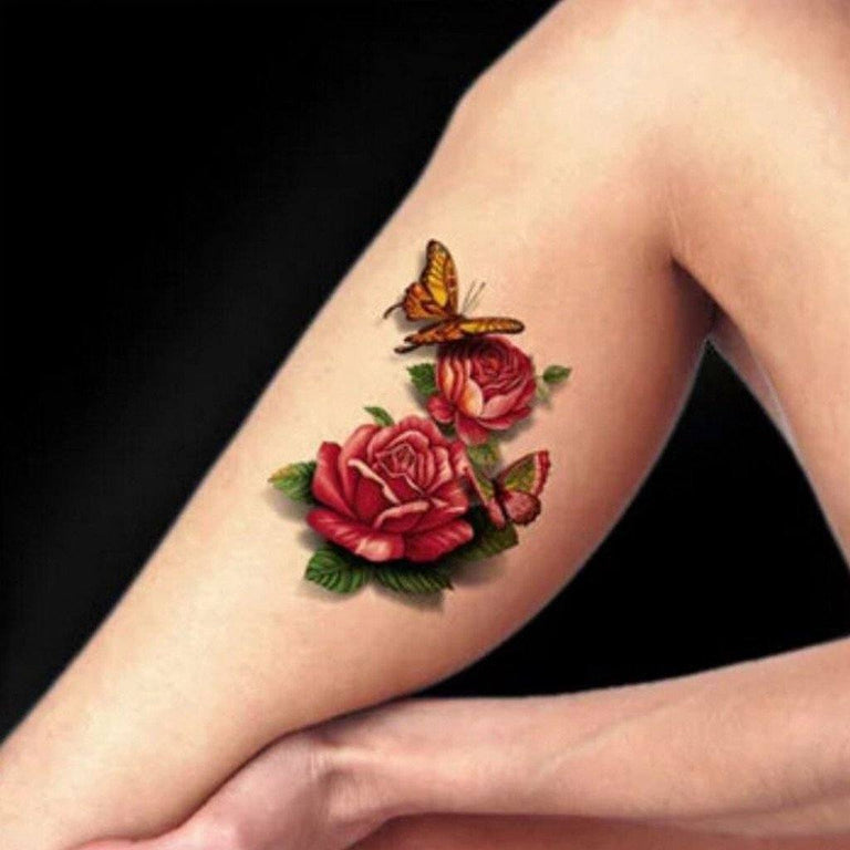 Roses & Butterflies - ArtWear Tattoo