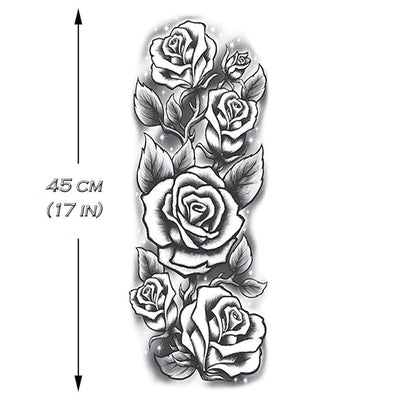 Roses Sleeve - ArtWear Tattoo