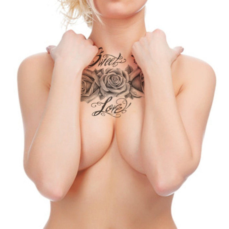 Sweet Love Roses - ArtWear Tattoo
