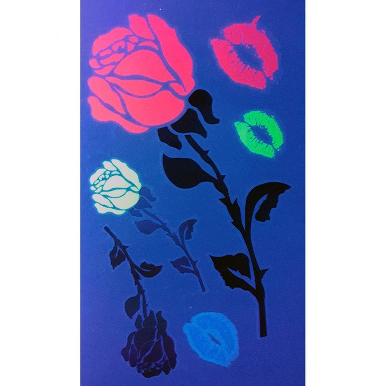 Ultraviolet Lil Roses Pack - ArtWear Tattoo