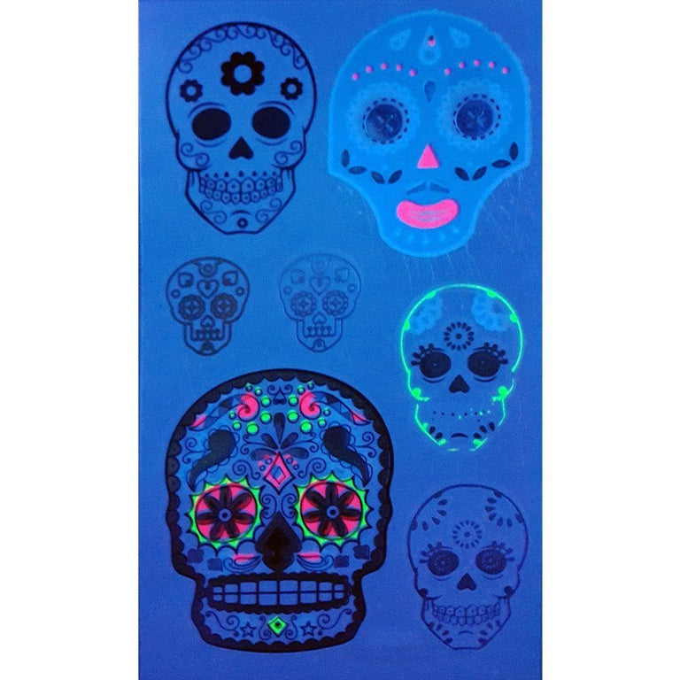 Fluorescents & Phosphorescents - Ultraviolet Lil Skulls Pack