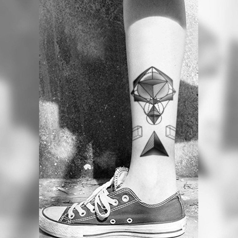 Geometric Art Design - ArtWear Tattoo