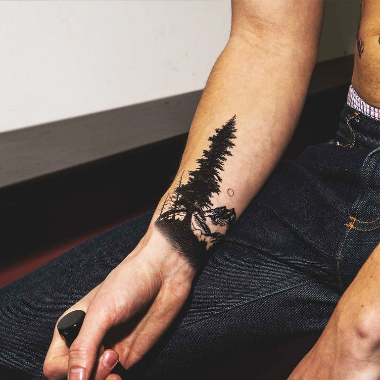 Mountain Tree Pack - ArtWear Tattoo