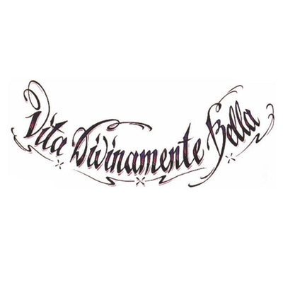 Vita Divinamente Bella - Pack - ArtWear Tattoo