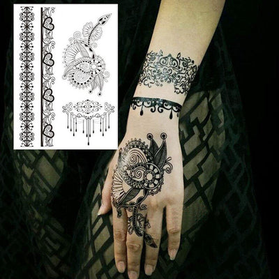 Henna Pattern Pack 1 - ArtWear Tattoo