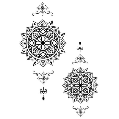 Round Mandalas - Pack - ArtWear Tattoo