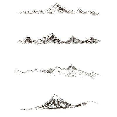 4 Mountains - Pack - ArtWear Tattoo