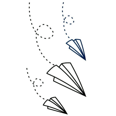 Paper Plane - Pack - ArtWear Tattoo