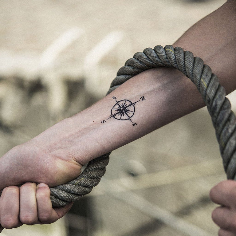 Small Compass - ArtWear Tattoo