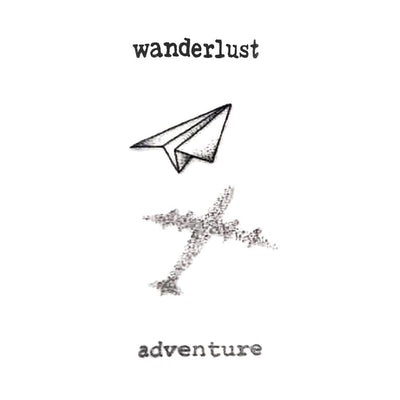 Wanderlust - ArtWear Tattoo