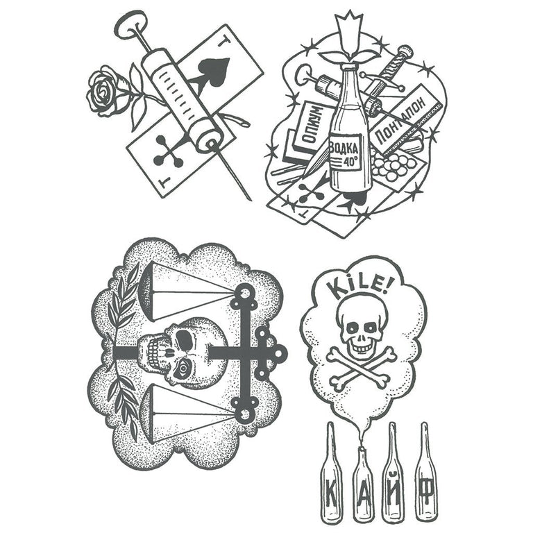 Old School - Russian Prison Tattoos - Pack