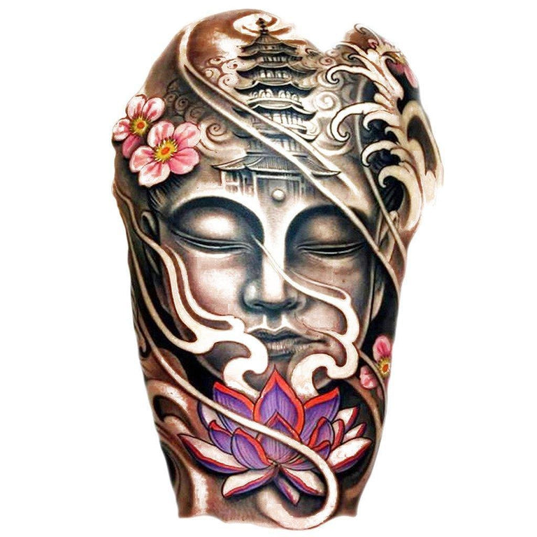 Buddha - Color 1 - ArtWear Tattoo