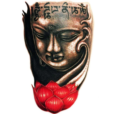Tatouage éphémère : Buddha - Color 2 - ArtWear Tattoo France - Tatouage temporaire