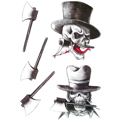 Gentleman Skull & Axe - Pack - ArtWear Tattoo