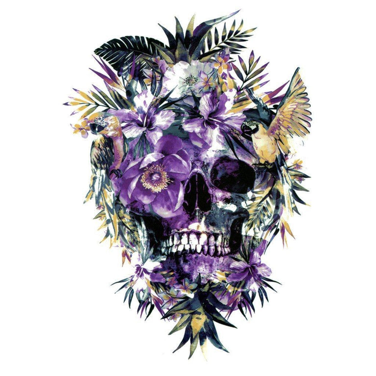 Tête De Mort - Skull In The Jungle