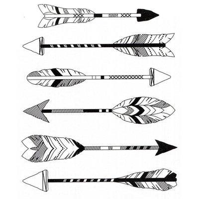 Tatouage éphémère : Big Arrows - ArtWear Tattoo France - Tatouage temporaire