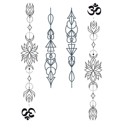 Om Ornaments - ArtWear Tattoo