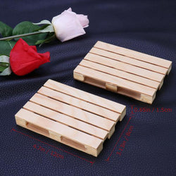 4pcs Mini Wood Pallet Drink Coasters