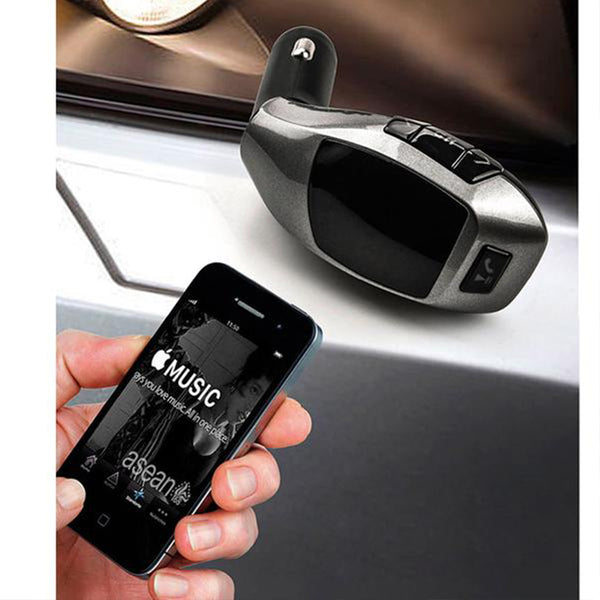 Bluetooth Car Kit Wireless Fm Transmitter