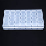 28 Slots Nail Art Tools Jewelry Storage Box