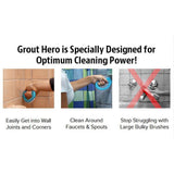 Grout Buster Brushes Set of 3
