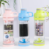 Water Bottle with Waterproof Compartment