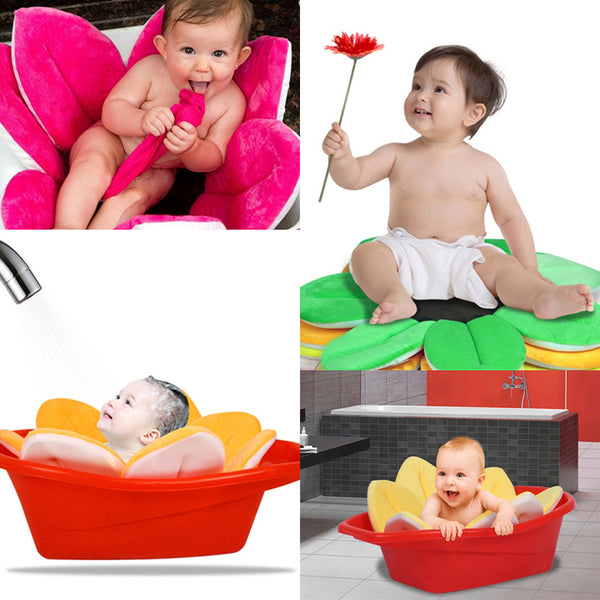 Flower Bathtub Baby Support