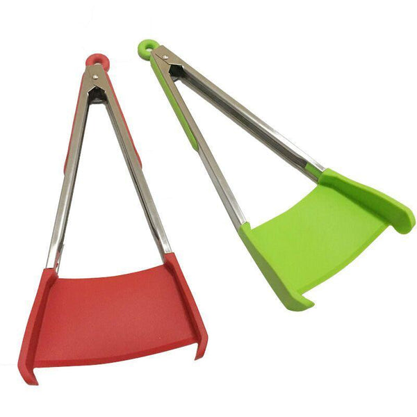 2 in 1 Spatula Tong