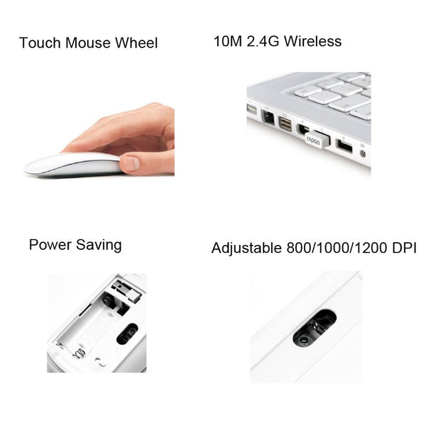 Ultrathin Magic Touch Mouse
