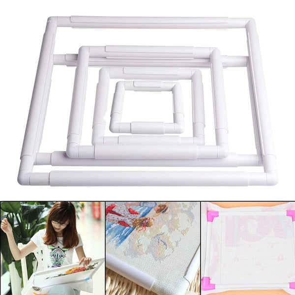 Portable Square Embroidery Cross Stitch Frame