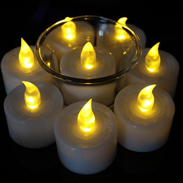 LED Smokeless Flame-free Candle