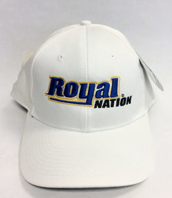 Hat - Ahead - Royal Nation Logo -White