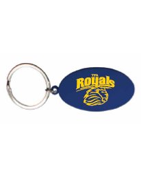 Key Tag - Oval - Blue
