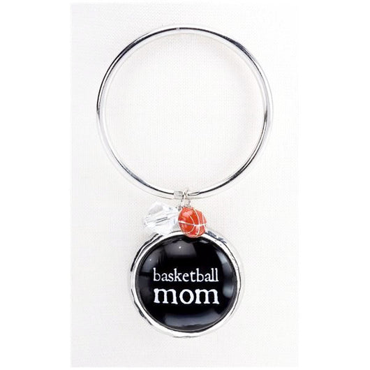 Keyring Basketball Mom