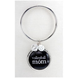 Keyring Volleyball Mom