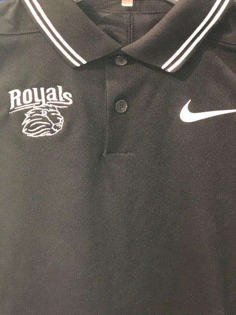 Nike Youth Victory Polo in Black