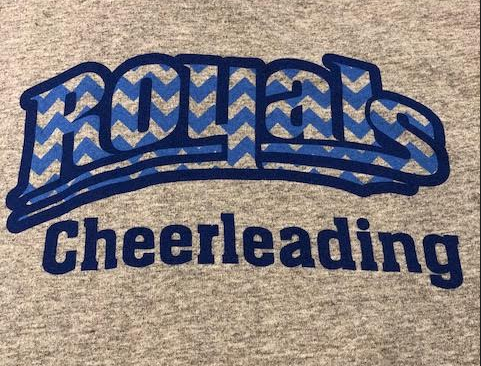 Chevron Cheerleading Tee