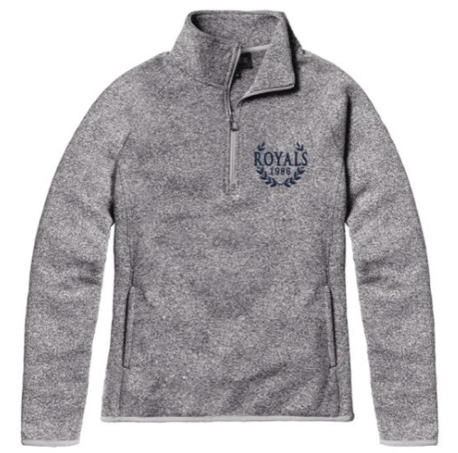 Ladies Saranac 1/4 zip